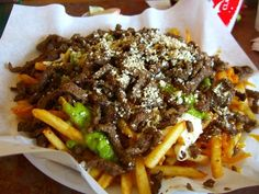 Carne Asada Fries at Lolita's Taco Shop!
