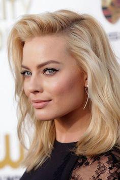 Margot Robbie make up