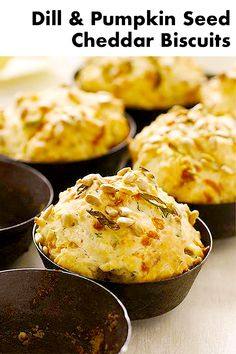 These are my FAVORITE biscuits to make! The recipe is so easy and they're packed with so much flavor! What's For Breakfast, Breakfast Recipes, Cheddar Biscuits, Cheddar Cheese, Sweet Pumpkin Seeds, Sweet Paul, Sweet Butter, Fast Healthy Meals, Savoury Baking