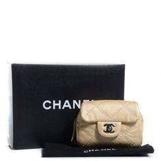 Chanel Calfskin Ultimate Stitch Mini Flap Woc Gold Cross Body Bag. Get the trendiest Cross Body Bag of the season! The Chanel Calfskin Ultimate Stitch Mini Flap Woc Gold Cross Body Bag is a top 10 member favorite on Tradesy. Save on yours before they are sold out!