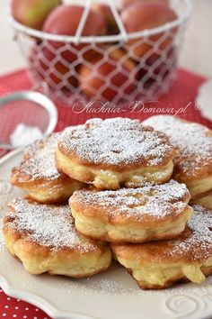 Polish Recipes, Doughnut, Kids Meals, French Toast, Food Porn, Good Food, Food And Drink, Cooking Recipes, Tasty