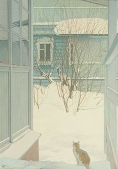 "Peter Bezrukov ""Winter Day"""