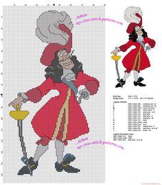 Inimigo de Peter Pan Capitão Gancho