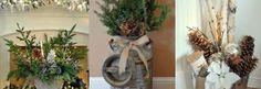 Rassemblez des choses de la nature et faites ainsi des pièces magnifiques pour dans votre maison ou à votre porte !