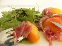 Pêche en habit de jambon cru et sa salade de roquette, Photo 3