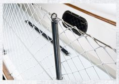 Lifeline netting can be a great way to keep children, pets, headsails and crew members on board a sailboat and often adds extra peace of mind for the boat owner. This diamond patterned netting can …