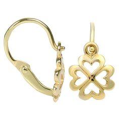 Brilio Copii cercei de aur Ctyrlistek 231 001 00 606-.90 g Aur, Jewelries, Earrings, Fragrance, Ear Rings, Stud Earrings, Ear Piercings, Ear Jewelry, Beaded Earrings Native