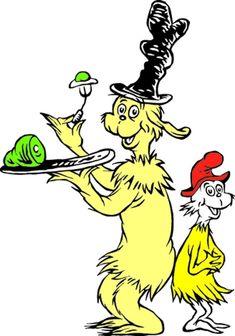 dr seuss clip art | The Art of Dr Seuss
