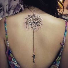 Tattoo frauen nacken lotus ideas for 2019 Juwel Tattoo, Smal Tattoo, Backpiece Tattoo, Tattoo Hals, Lotus Tattoo, Piercing Tattoo, Mini Tattoos, Flower Tattoos, Neck Tattoos