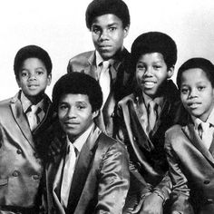 Jackson 5 - 1969 - Cuteness in black and white ღ by ⊰@carlamartinsmj⊱
