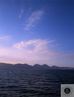 View across the Sound of Jura.