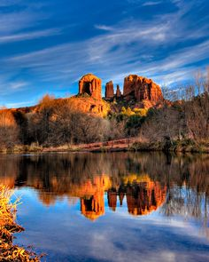 Cathedral Rock - Sedona, Arizona  One of my favorite places in the world.