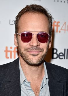Let's Talk About the Pink Sunglasses Peter Sarsgaard Wore Last Night: The Daily Details: Blog : Details