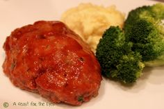 A Feast for the Eyes: Blue Plate Special-- The very best meatloaf recipe. I promise!