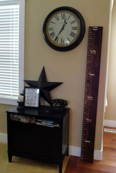 Holy Craft: Growth Chart Ruler