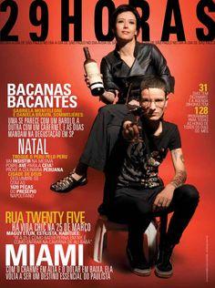 Revista 29HORAS - Ed.02 - dezembro 2009 - Capa 1  Revista mensal com agenda cultural de São Paulo e distribuída no Aeroporto de Congonhas. Capa: Gabriela Monteleone e Daniela Bravin.