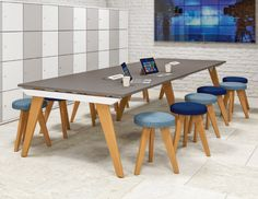 Hoxton Co-Working Table – Loop Workplace Furniture Furniture Projects, Office Furniture, Office Fit Out, Oak Desk, Ral Colours, Co Working, Boardroom Tables, Ping Pong Table, Solid Oak
