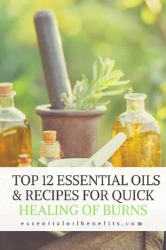Burns can be extremely painful and honestly annoying when trying to go about your every day life. So if you're looking for a natural healing method to heal your burns here to the top 12 essential oils to use. Care Skin Condition and Treatment Oil Makeup Essential Oil For Burns, Essential Oils For Skin, Lemongrass Essential Oil, Essential Oil Blends, Natural Health Remedies, Herbal Remedies, Health And Fitness Tips, Natural Healing, Holistic Healing