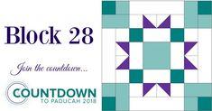 Block Twenty-Eight: Countdown to Paducah 2018 – AQS Blog