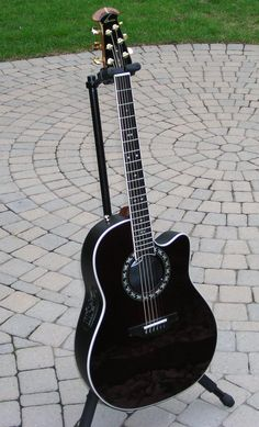 I own a similar looking model of this Ovation right here. Great guitar.