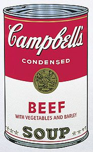 No. 6 from Campbell's Soup 1 1968 by Andy Warhol