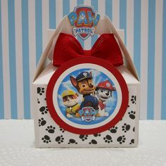 This item is unavailable Paw Patrol Birthday Decorations, Paw Patrol Party Favors, Paw Patrol Birthday Theme, Thomas Birthday Parties, Birthday Party At Park, Birthday Party Favors, Favor Boxes, Skype, Favours