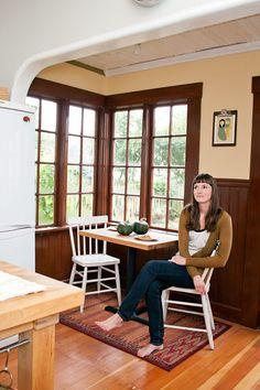 Jenny & Asmunds $4000 Renovated Kitchen & Garden Kitchen Tour | The Kitchn