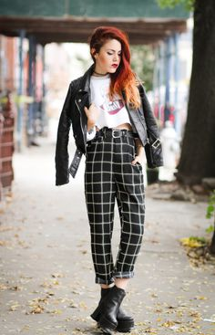 Such a cool look and love the pants