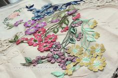 Vintage Style Flower Applique Iron On Patch Floral by lacecrafted, $3.40
