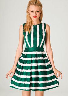 St Patrick's day dress!- at fashion union  SOOOO cute!