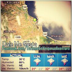 Ambiente #cálido en la mayor parte del estado de #Veracruz #megusta http://www.facebook.com/TurismoEnVeracruzAventura #clima #Mexico