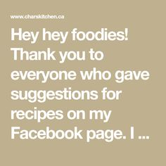 Hey hey foodies! Thank you to everyone who gave suggestions for recipes on my Facebook page. I will be giving them all a try in short order! As many of you know, I finally ordered a Vitamix and UPS...