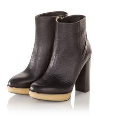 Geht zu allem und superbequem! Schwarze Stiefelette aus hochwertigem Leder. #Schuhe #Stiefeletten #Impressionenversand