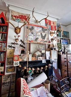 Mark Hearld's home and studio