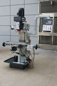 Thedrilling and Milling Machine advantage : 1.Three axis hardened treatment, high rigidity. 2.vertical horizontal multi-functional ,drilling ,milling, boring operation. 3.X axis mechanical feed,Y.Z axis can be added the device 4.Gear transmission milling head,stable transmission,compact structure,easy maintenance,easy to operate #turretmilling #millpress #verticalmilling #millingmachine #taiwanmilling #europemilling #highqualitymilling #drillingmillingmachine Johnny Bravo, Milling Machine, Stables, Cnc, Drill, Home, Hole Punch, Horse Stables, Drills