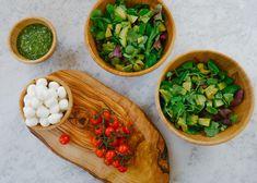Caprese Salad + Pesto Dressing Recipe-2