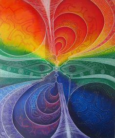 Eye Mandala by Reshin Bima