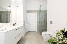 The Block NZ: Bathroom reveals Bathroom Tapware, Master Bathroom Shower, Relaxing Bathroom, Mold In Bathroom, Best Bathroom Vanities, Small Bathroom, The Block Bathroom, Grab Bars In Bathroom, Bathroom Layout