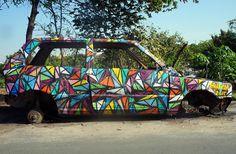 Kranium Graffiti  Suportes