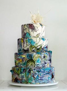 maggie-austin-cake-stained-glass-queen-of-the-night-wedding