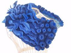 collo shibori blu