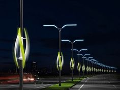 A future where the whoosh of passing cars power highway lights