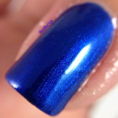 Macro of Top Shelf Lacquer Blueberry Shiraz @topshelflacquer