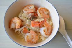 Creamy Green Curry Coconut Noodles with Sesame Shrimp Recipe on Yummly. @yummly #recipe