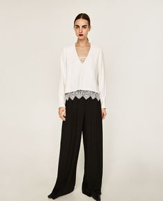 FOIL SHIRT-View all-TOPS-WOMAN | ZARA United States