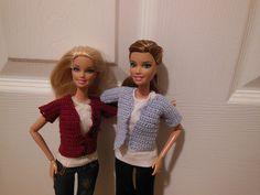 Crochet Patterns Galore - Easy Barbie Cardigan