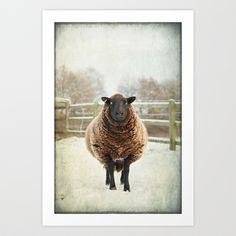 Zombie sheep Art Print by Polly470 - $17.68