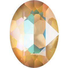 SWAROVSKI® Innovations FALL/WINTER 2019/20 4120 Fancy Stone 001 L131D Crystal Ochre DeLite Swarovski, Fall Winter, Table Lamp, Fancy, Stone, Crystals, Tableware, Home Decor, Lamp Table