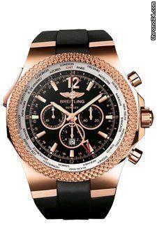 Breitling Bentley Motors Bentley GMT chronograph 49mm 18K red gold case, screw-locked crown - watches, womens, the horse, nixon, women, luxury watch *ad