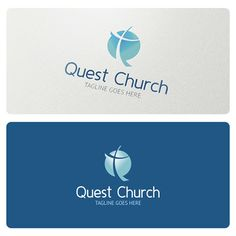 Quest Church Logo is highly suitable for Cristian church related activities, community, organization, youth group and similar.